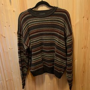 Striped sweater (Size large)